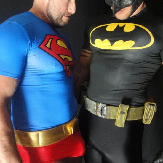 Batman fucks Superman