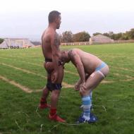 Outdoor rugby fuckers