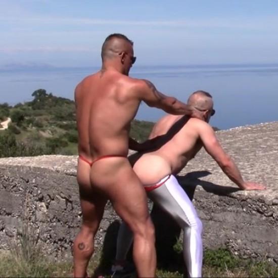 Hiking in thongs
