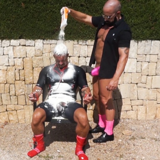 Abused and gunged
